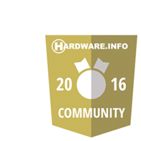 Hardware.info 2016 Community Award