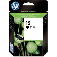 HP 15 (C6615DE) Inktcartridge Zwart