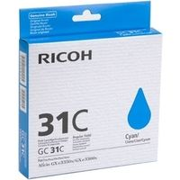 Ricoh GC-31C (405689) Inktcartridge Cyaan