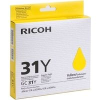 Ricoh GC-31Y (405691) Inktcartridge Geel
