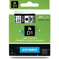 Dymo 40910 (S0720670) Tape Zwart op transparant (9 mm)