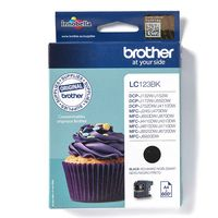 Brother LC-123BK Inktcartridge Zwart
