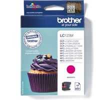 Brother LC-123M Inktcartridge Magenta