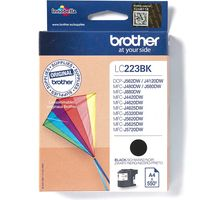 Brother LC-223BK Inktcartridge Zwart