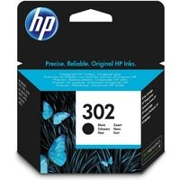 HP 302 (F6U66AE) Inktcartridge Zwart