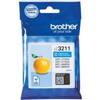 Brother LC-3211C Inktcartridge Cyaan