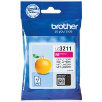 Brother LC-3211M Inktcartridge Magenta