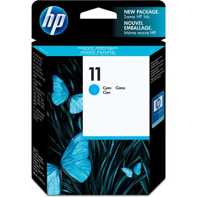 HP 11 (C4836A) Inktcartridge Cyaan