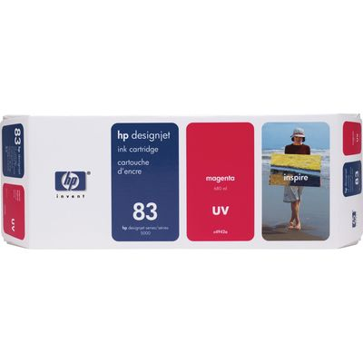 HP 83 (C4942A) Inktcartridge UV-magenta