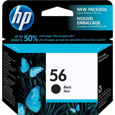 HP 56 (C6656AE) Inktcartridge Zwart