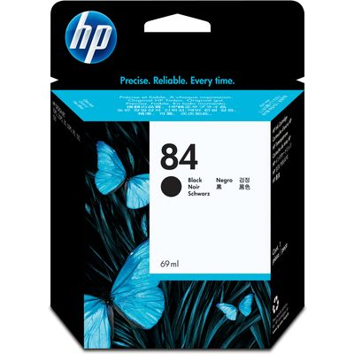 HP 84 (C5016A) Inktcartridge Zwart