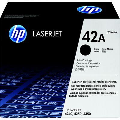 TONERCARTRIDGE HP 42A Q5942A 10K ZWART