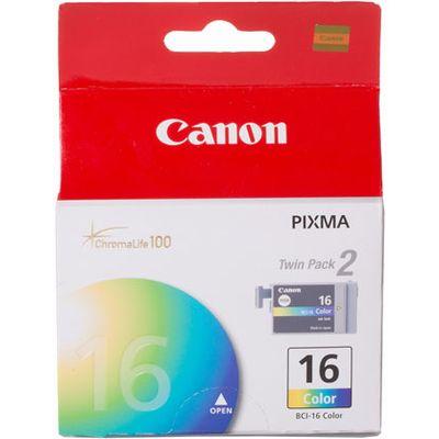 Inkcartridge Canon BCI-16C kleur 2x