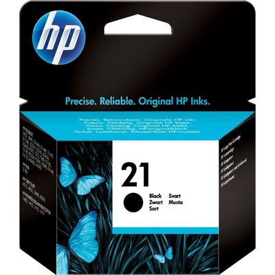 HP 21 (C9351AE) Inktcartridge Zwart