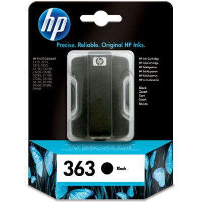 HP 363 (C8721EE) Inktcartridge Zwart