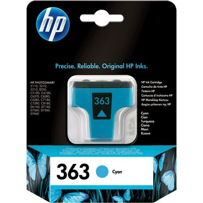 HP 363 (C8771EE) Inktcartridge Cyaan