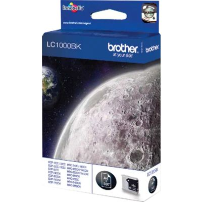 Brother LC-1000BK Inktcartridge Zwart