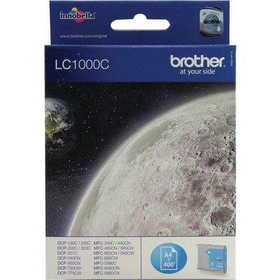 Brother LC-1000C Inktcartridge Cyaan