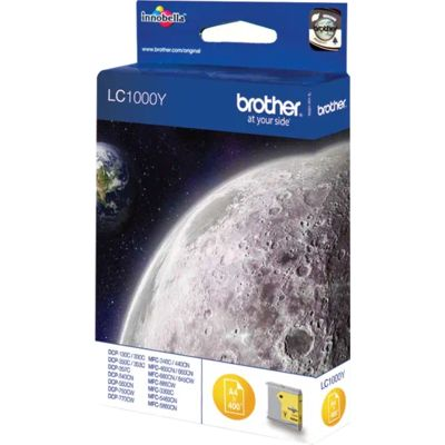 Brother LC-1000Y Inktcartridge Geel