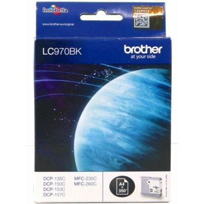 Brother LC-970BK Inktcartridge Zwart