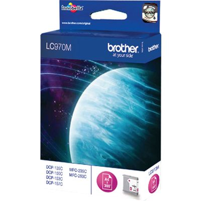 Brother LC-970M Inktcartridge Magenta