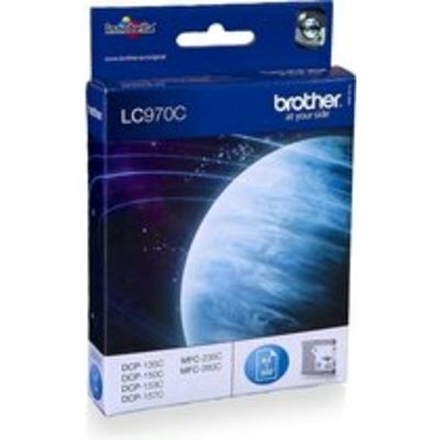 Brother LC-970C Inktcartridge Cyaan