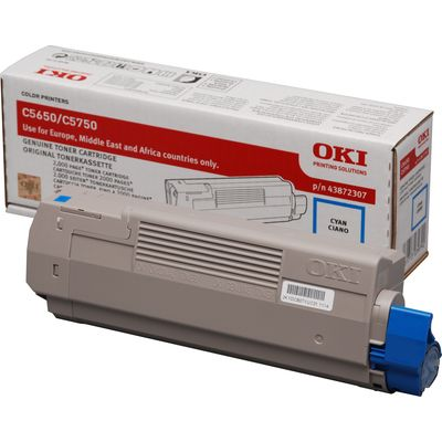 OKI Cyan toner for C5650-C5650-C5750