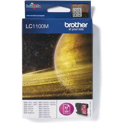 Brother LC-1100M Inktcartridge Magenta