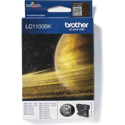 Brother LC-1100BK Inktcartridge Zwart