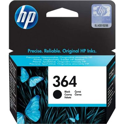 HP 364 (CB316EE) Inktcartridge Zwart
