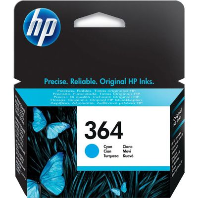 HP 364 (CB318EE) Inktcartridge Cyaan