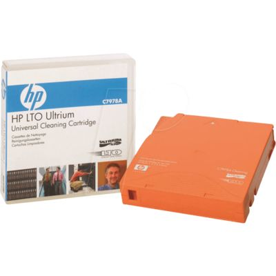 HP LTO Ultrium (C7978A) Universal Cleaning Cartridge