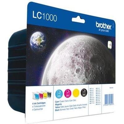 INKCARTRIDGE BROTHER LC-1000 ZWART 3 KLEUREN