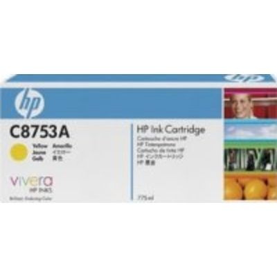 HP C875 (C8753A) Inktcartridge Geel