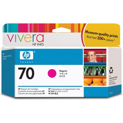 HP 70 (C9453A) Inktcartridge Magenta