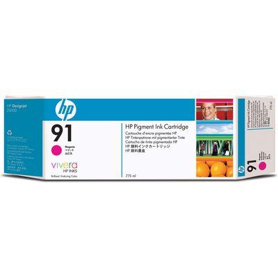 HP 91 (C9468A) Inktcartridge Magenta