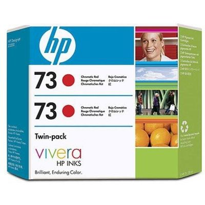 HP 73 (CD952A) Inktcartridge Rood