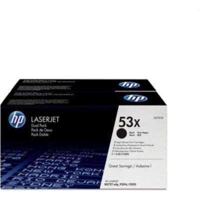TONERCARTRIDGE HP 53X Q7553XD 7K ZWART
