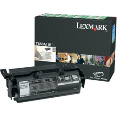 TONERCARTRIDGE LEXMARK T650A11E PREBATE 7K ZWART