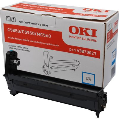 DRUM OKI 43870023 C5850 C5950 BLAUW