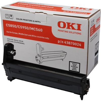 OKI Black image drum for C5850-5950