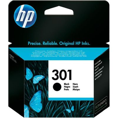 Inkcartridge HP CH561EE nr.301 zwart