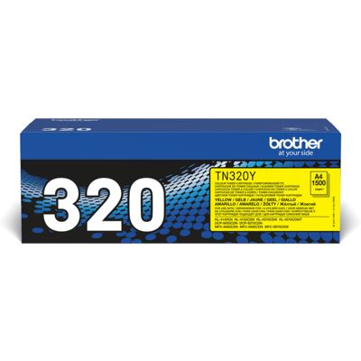 Brother TN-320Y Toner Geel