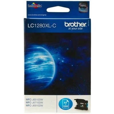 Brother LC-1280XLC Inktcartridge Cyaan Hoge capaciteit