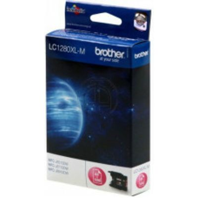 Brother LC-1280XLM Inktcartridge Magenta Hoge capaciteit
