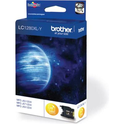Inkcartridge Brother LC-1280XLY geel HC