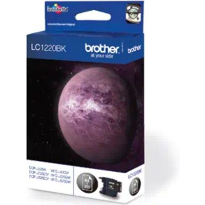 Brother LC-1220BK Inktcartridge Zwart