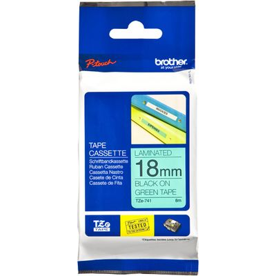 Brother TZE741 labelprinter-tape