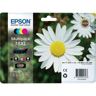 Epson C13T18164012 6.6ml 11.5ml 470pagina's 450pagina's Zwart, Cyaan, Geel inktcartridge