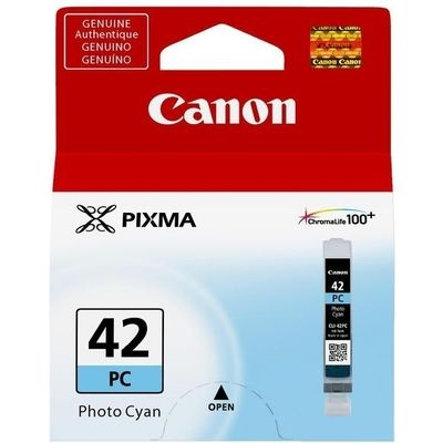 Inkcartridge Canon CLI-42PC foto blauw